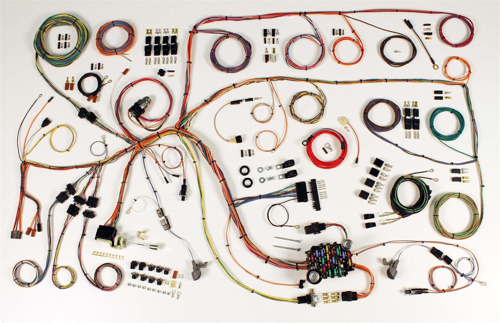 american autowire classic update series wiring harness kit. Black Bedroom Furniture Sets. Home Design Ideas