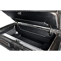 1964 - 1966 Ford Mustang Coupe & Convertible Trunk Kit Sport II Black Vinyl with Black Carpet