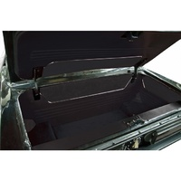 1967 - 1968 Ford Mustang Coupe & Convertible Trunk Kit Sport II Black Vinyl with Black Carpet
