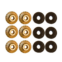 1964 - 1968 Mustang Quarter Panel Extension Nut (Set of 6)