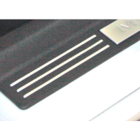 2005 - 2013 Mustang Sill Plate Accent Strips