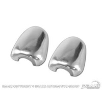 2005 - 2007 Mustang Chrome Anodized Aluminum Windshield Washer Nozzle Covers