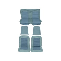 1966 Mustang Coupe Full Set Standard Upholstery (Blue)