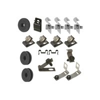 1967 Mustang Brake & Fuel Line Fastener Kit - 200 6 Cyl 1 Piece Fuel Line