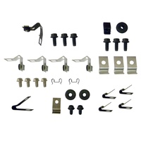 1967 Mustang Brake & Fuel Line Fastener Kit - 200 6 Cyl 2 Piece Fuel Line
