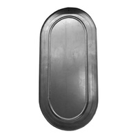 Shelby Oval Air Cleaner Bottom Plate Blank