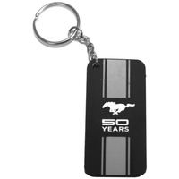Ford Mustang 50 Years PVC Key Ring