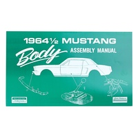 1964 Mustang Body Assembly Manual