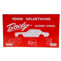 1966 Mustang Body Assembly Manual