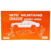 1970 Mustang Chassis Assembly Manual