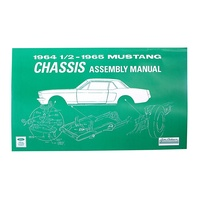 1964 - 1965 Mustang Chassis Assembly Manual