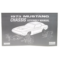 1973 Mustang Chassis Assembly Manual