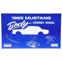 1965 Mustang Body Assembly Manual