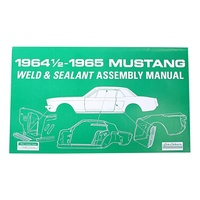 1964 Mustang Weld-Sealant Assembly Manual