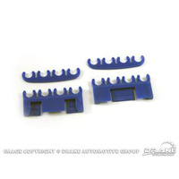 1964 - 1973 Mustang Spark-Plug-Wire Separator Set (Blue)
