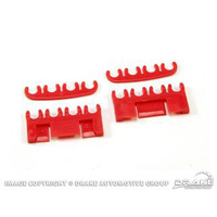 1964 - 1973 Mustang Spark-Plug-Wire Separator Set (Red)