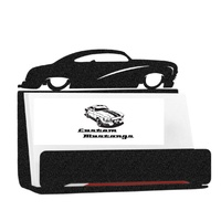 Metal Business Card Holder - Hot Rod