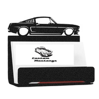 Metal Business Card Holder - Mustang