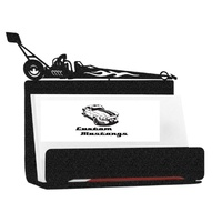 Metal Business Card Holder - Dragster