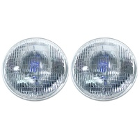 "1964 - 1973 Mustang 7"" Round Halogen Sealed Beam Headlamp, Right Hand Drive - Pair"