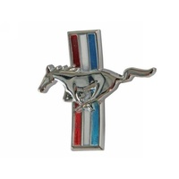 1964 - 1965 Mustang Glove Box Emblem (Curved)