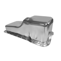 1964 - 1969 Mustang Concours 5 Quart Small Block 289 302 Oil Pan (Chrome)