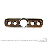 1965 - 1966 Mustang Instrument Bezel (Wood)