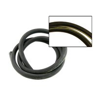 1970 - 1973 Mustang Heater Hose (With Yellow Stripe)