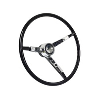 1965 Falcon Sprint Steering Wheel Kit (Black, Alternator)