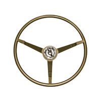 1965 Mustang Standard Steering Wheel (Ivy Gold, Alternator)