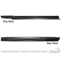 1964 - 1966 Mustang Rocker Panel (Complete LH, Fastback/Coupe)
