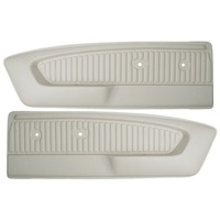 1965 - 1966 Mustang Deluxe Door Panels (Custom Dark Blue)
