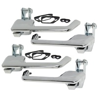 Door Handles Left & Right Front & Rear Outer Chrome XR - XY Falcon ZA - ZD Fairlane