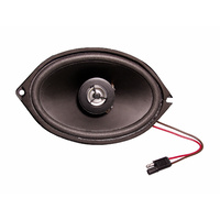 "1967 -1968 Mustang Original Dash Speaker (Upgraded Dual Cone) 5"" x 7"" Mono"
