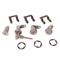 1967 - 1969 Mustang Ignition, Door & Trunk Lock Set
