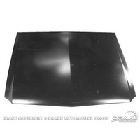 1967 - 1968 Mustang Hood without Turn Signal Reliefs