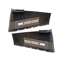1967 - 1968 Mustang Fastback Quarter Trim Panels