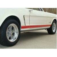 1967 Mustang GT Stripe Kit (Black)