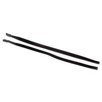 1967 - 1968 Mustang Front Door Glass Run Weatherstrips - Pair