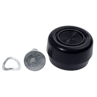 1968 - 1973 Mustang Window Crank Knob & Pin (Black)