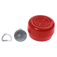 1968 - 1973 Mustang Window Crank Knob (Vermillion)
