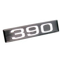 "1969 Mustang Hood Scoop ""390"" Plate Only"