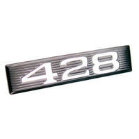 "1969 Mustang Hood Scoop ""428"" Plate Only"