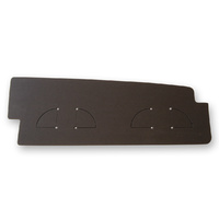 1969 - 1970 Mustang Trunk Filler Board (Black chipboard)