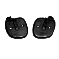 1969 - 1970 Mustang Front Door to Window Seals - Pair