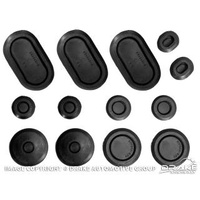 1971 - 1973 Mustang Rubber Grommet Kit (13 pc)