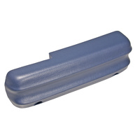 1971 - 1973 Mustang Arm Rest Pad (Blue, LH)