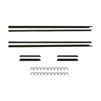 1971 - 1973 Mustang Convertible Window Channel Strip Set - Authentic