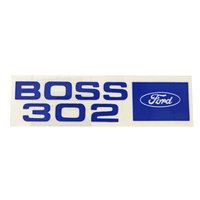 1969 - 1970 Boss 302 Valve Cover Decal