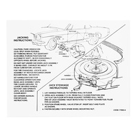 1965 Mustang Jack Instructions